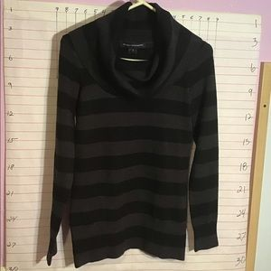 FRENCH CONNECTION woman's sweater top sz S striped